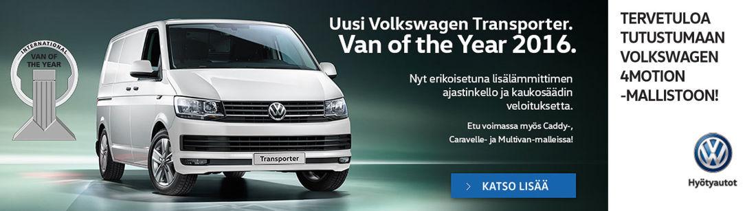 Lisälämmittimen ajastinkello ja kaukosäädin veloituksetta uusiin Volkswagen Caddy- ja Transporter-asiakastilauksiin.