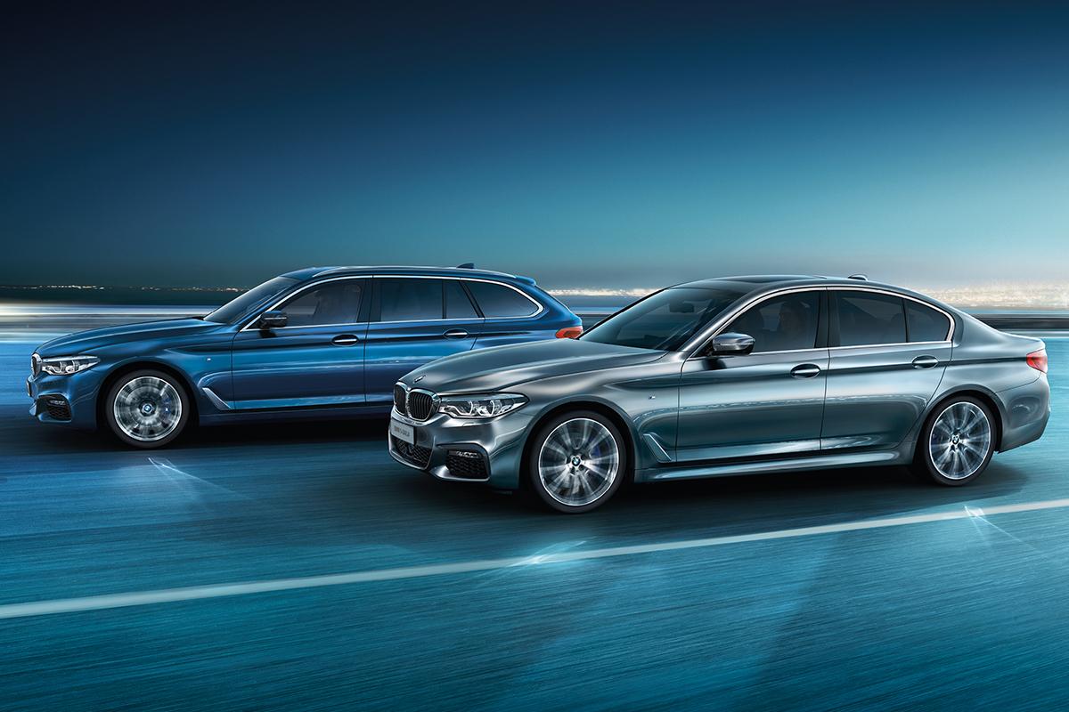 Ylellinen BMW 5-sarjan Business