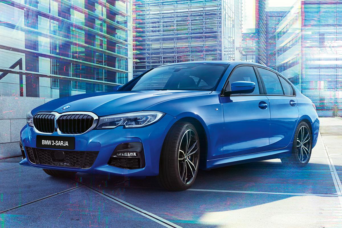 Täysin uusi BMW 3-sarja. Saatavana myös ladattavana hybridinä.