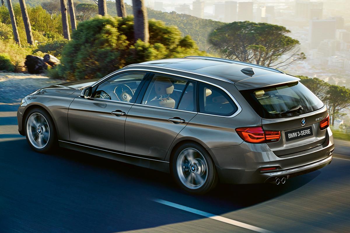 BMW 3-sarjan Touring Business Exclusive