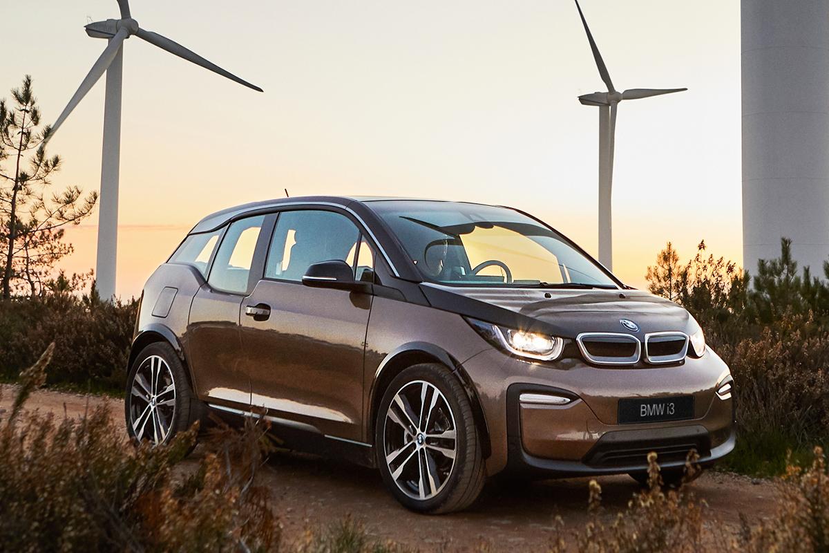 Tuotettu 100 % tuulivoimalla - BMW i3 120 Ah-täyssähköauto