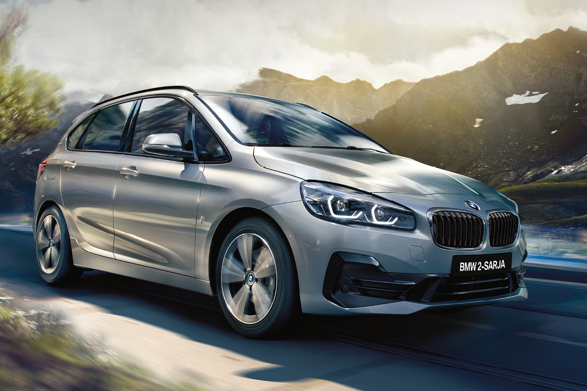 BMW 225xe Active Tourer Charged Edition alk. 39.532 €
