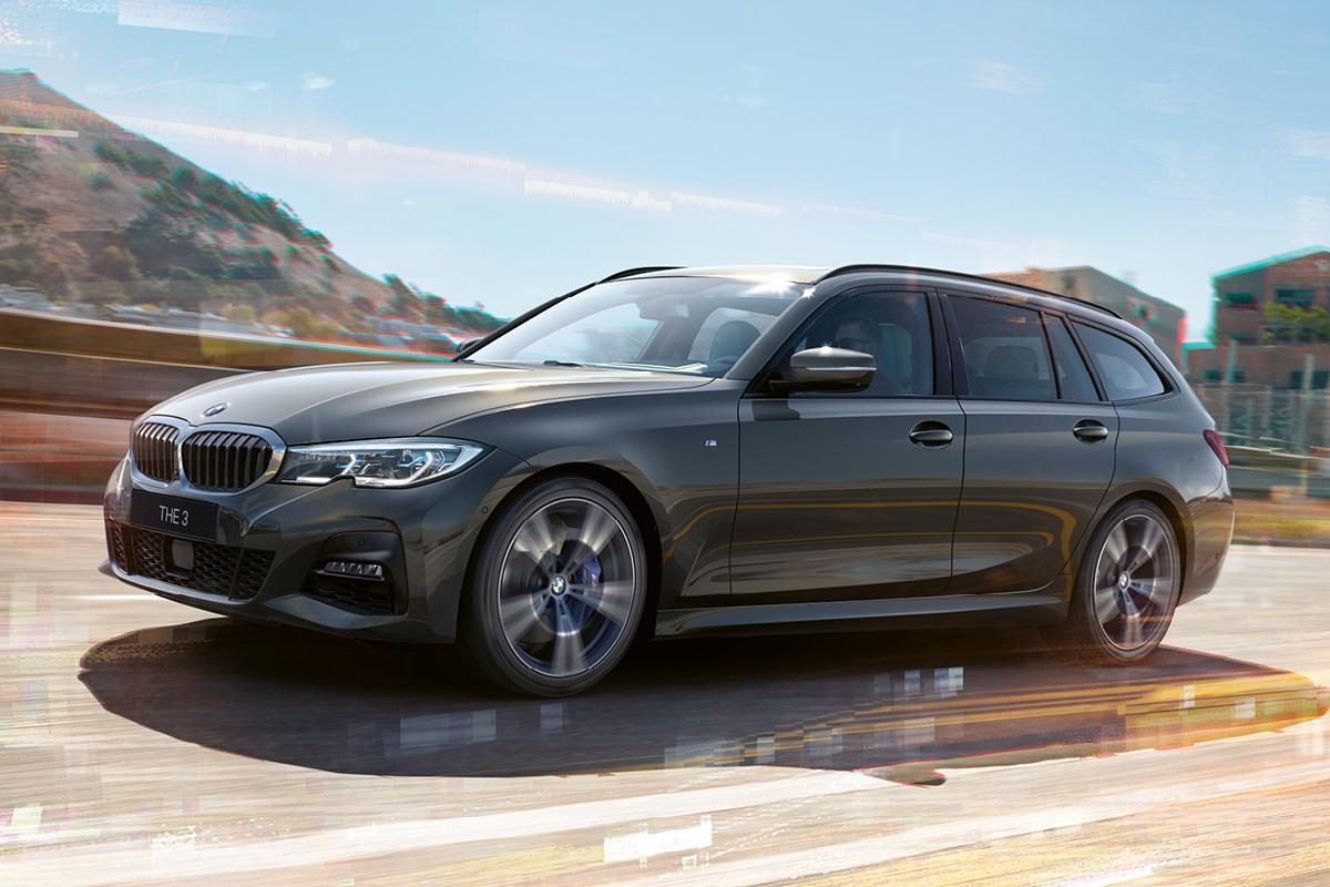 THE 3 - Uusi BMW 3-sarjan Touring.