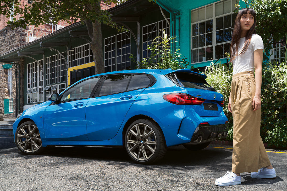 THE 1 -Uusi BMW 1-sarja alk. 399 €/kk