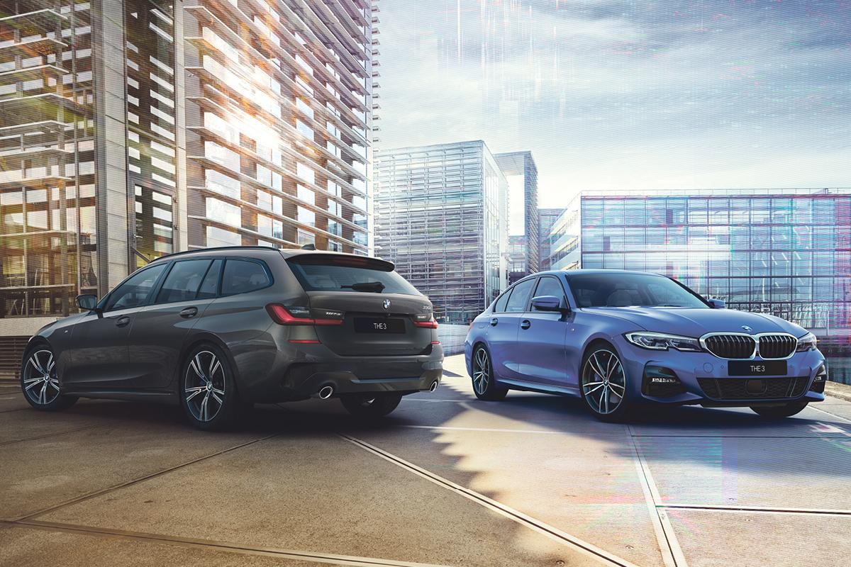 Uusi BMW 3-sarjan Sedan ja Touring – saatavana nyt kattavat lisävarustepaketit