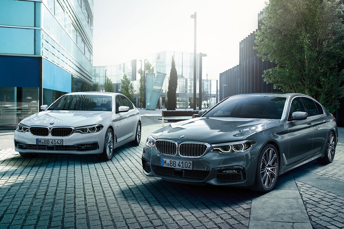 BMW -mallit nopeaan toimitukseen.