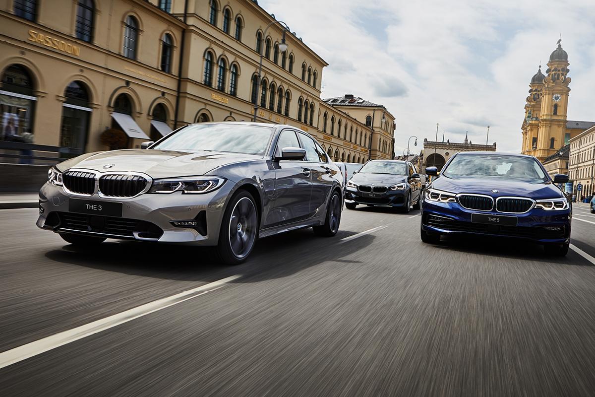 SÄHKÖISTYMISEN EDELLÄKÄVIJÄ. Koe kattava BMW Hybrid-mallisto yritysautona.