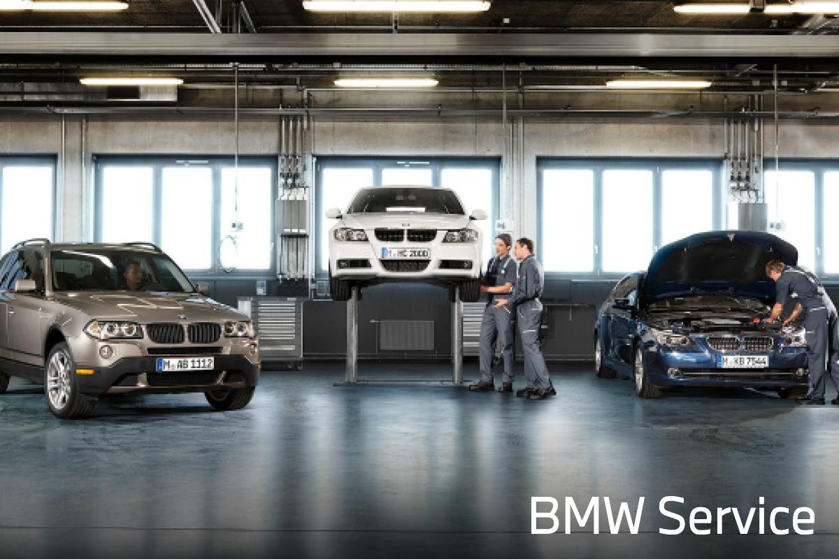 BMW -huollon tarjoukset Laakkoselta.
