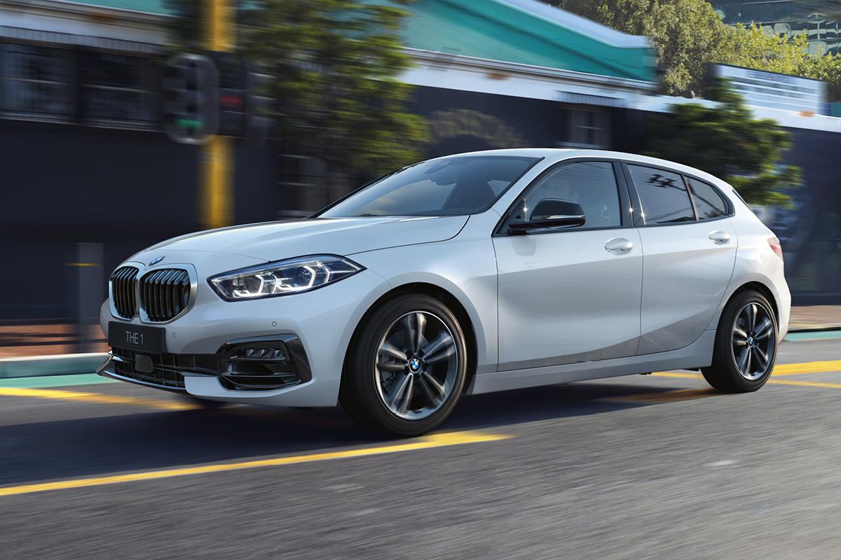 Urheilullinen BMW THE 1 Edition Laakkoselta.