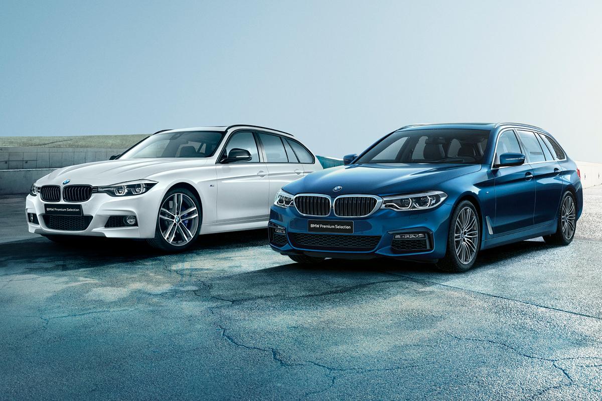 Sertifioitu BMW Premium Selection vaihtoauto on paras vaihtoehto uudelle