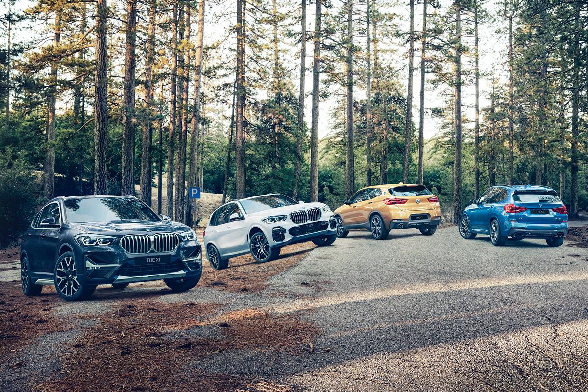 SÄHKÖISTYMISEN EDELLÄKÄVIJÄ. Tutustu BMW X-sarjan Plug-In Hybrid -mallistoon