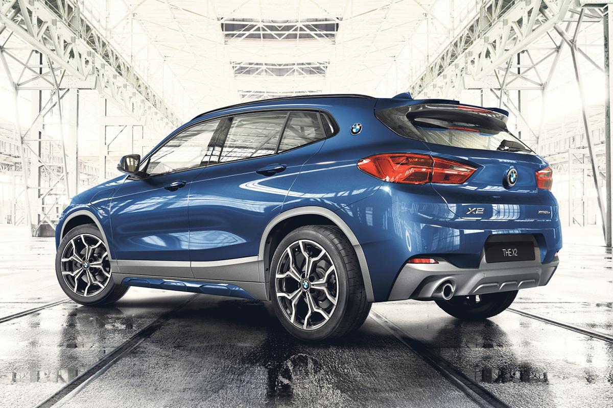 BMW X2 ladattavana hybridinä Laakkoselta.