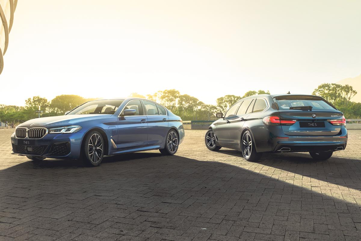BMW 5-sarjan uudet hybridit Laakkoselta.