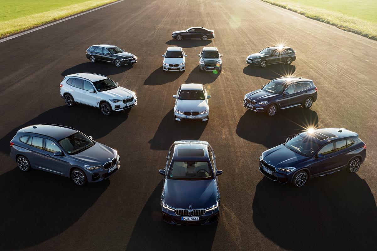 Tutustu laajaan BMW-lataushybridien mallistoon