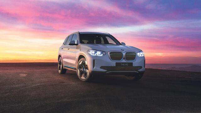 Täyssähköinen BMW iX3 huimin eduin!