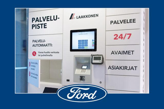 Laakkosen Ford-merkkihuolto palvelee kellon ympäri pk-seudulla ja Turussa.