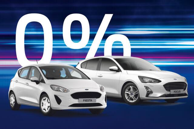 Ford henkilöautoihin rahoitus 0 % korolla.