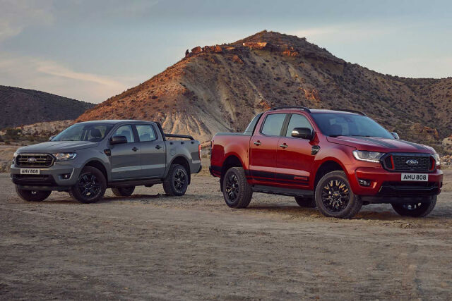 Upeat Ford Ranger erikoismallit nyt Laakkosella.