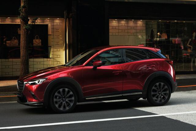 Rajoitettu erä Mazda CX-3 malleja alk 22.590 € tai 229 €/kk.