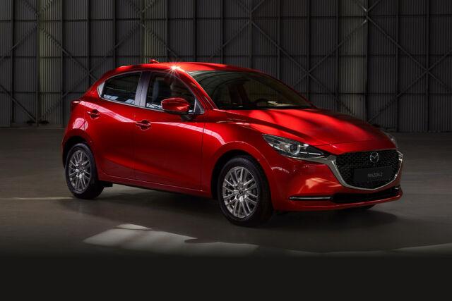 Mazda2 M Hybrid -malleihin talvipaketti 490 €.