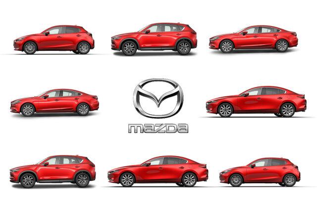 Rakenna oma Mazda.