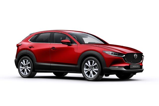 Erä huippuvarusteltuja Mazda CX-30 malleja hintaan 33.590 € tai 349 € / kk.