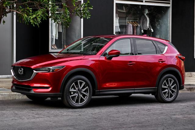 Ihanteellinen perhemaasturi Mazda CX-5 Laakkoselta.