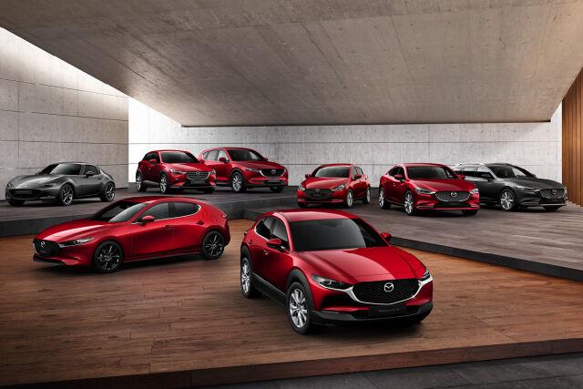 Upea valikoima Mazda -autoja nopeaan toimitukseen!