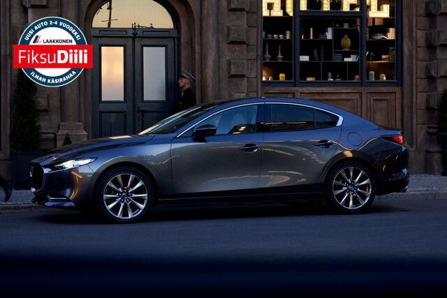 Erä Mazda3-malleja FiksuDiilillä alk. 299 €/kk.