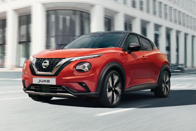 Nissan Juke Laakkoselta 0 % rahoituskorolla.