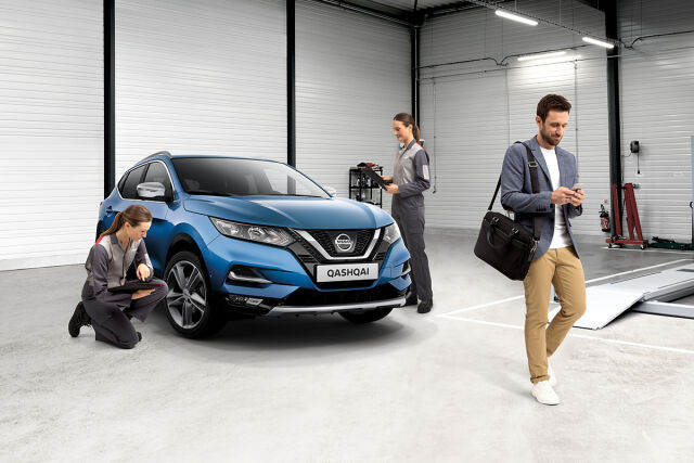 Nissan merkkihuolto uudemmille Nissaneille (vm. 2020-2017)