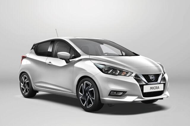 Nissan Micra kampanjahintaan Laakkoselta