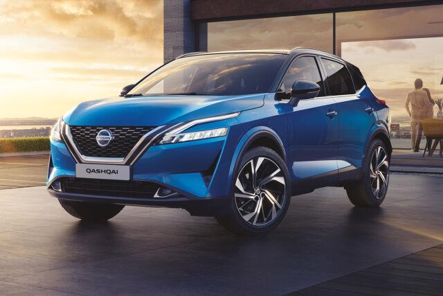 Täysin uusi Nissan Qashqai nyt Laakkoselta alk. 28.650 €