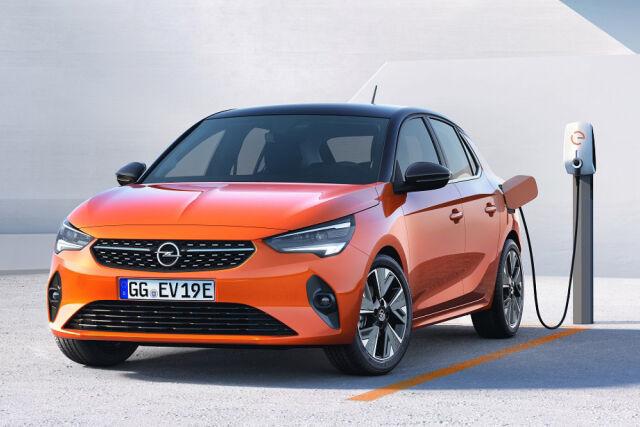 Uusi Opel Corsa-e täyssähköauto Laakkoselta.