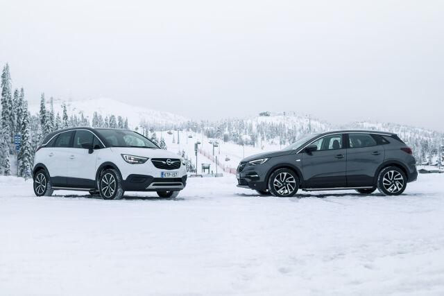 Erään nopean toimituksen Opel-malleja talvirenkaat 490 €