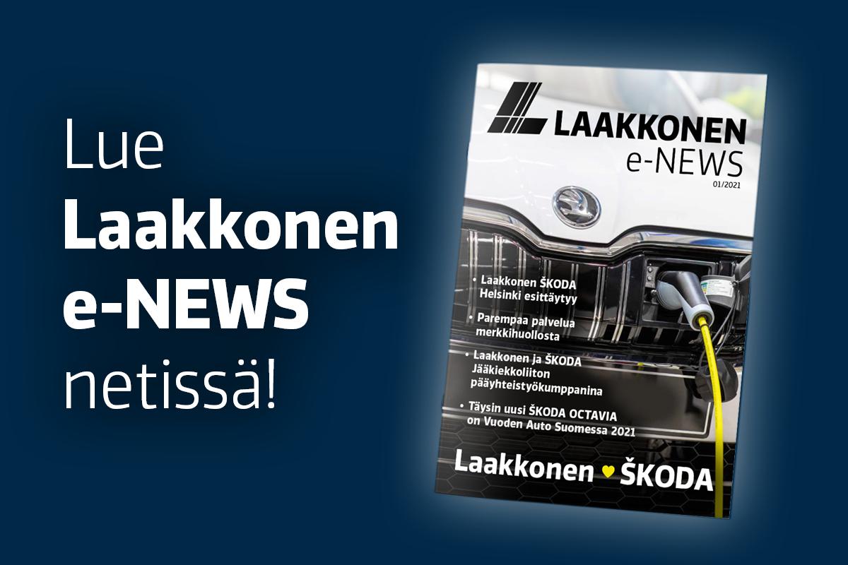 Lue Laakkonen e-NEWS netissä.