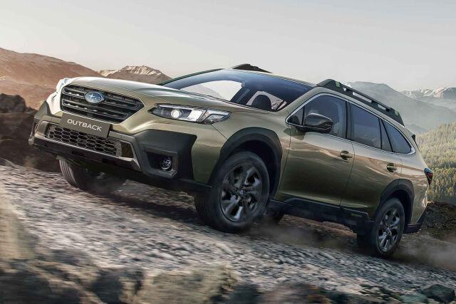 Täysin uusi Subaru Outback nyt Laakkosella.