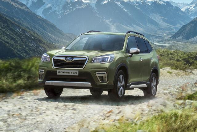 Subaru Forester Laakkoselta.