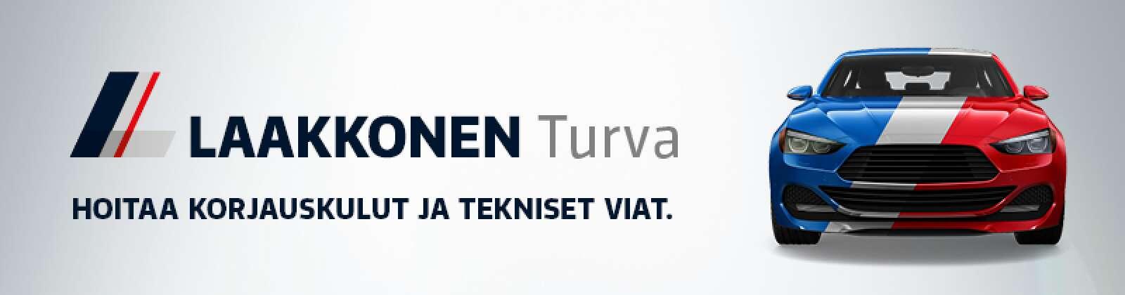 Laakkonen Turva hoitaa korjauskulut ja tekniset viat.