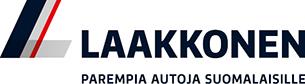 Laakkonen. Parempia autoja suomalaisille -logo.